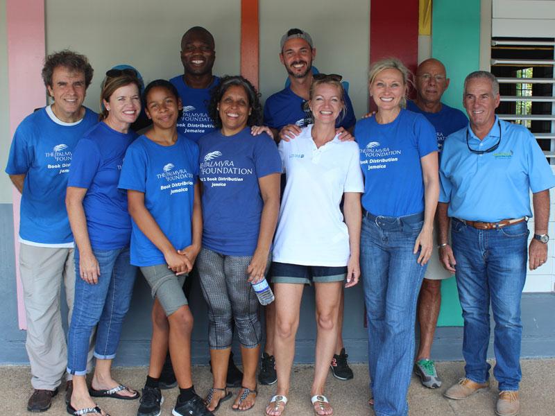 Ragni Trotta volunteers 1